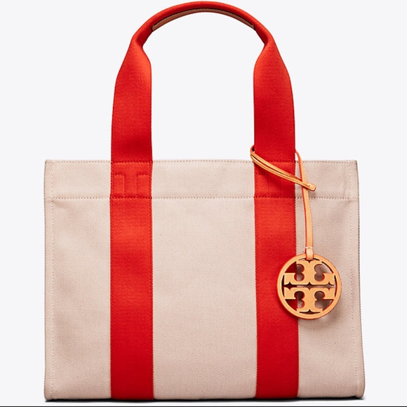 22576763a87a NWT TORY BURCH Iconic MUST HAVE Miller Canvas Tote